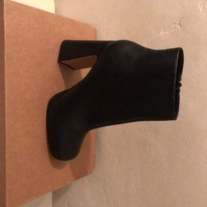 Asos square toe boots